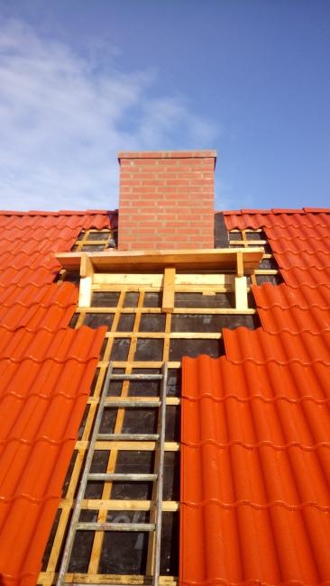 Ny murad skorsten
